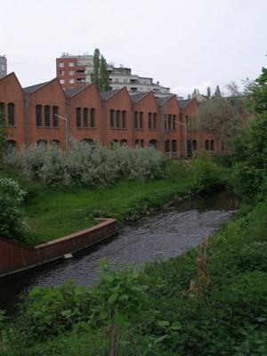 Bildhauerwerkstätten des BBK in der ehemaligen Tresorfabrik
